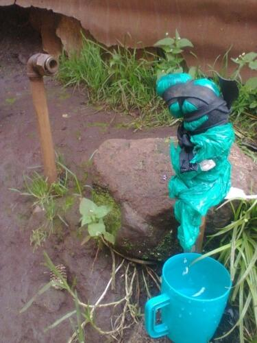 Identification of visible leaks during a CIS in Kericho Town - June 2015
